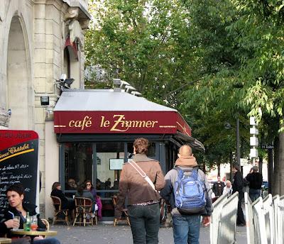 Cafe Le Zimmer, Paris