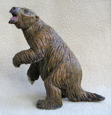 Extinct Giant Ground Sloth Megatherium Toy or Replica