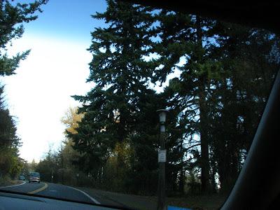 Driving to OHSU, Portland