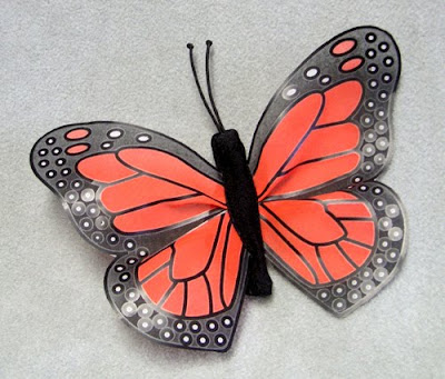 Monarch Butterfly Finger Puppet by Folkmanis