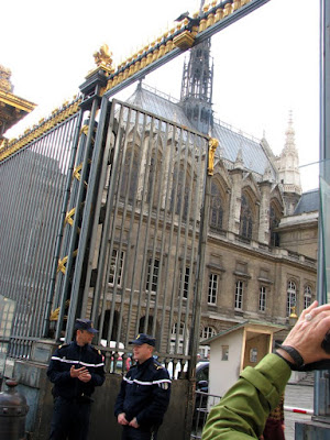 Ste-Chapelle and the Gates of the Palais de Justice