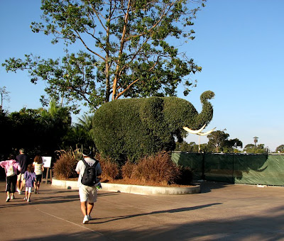 Elephant Topiary at the San Diego Zoo