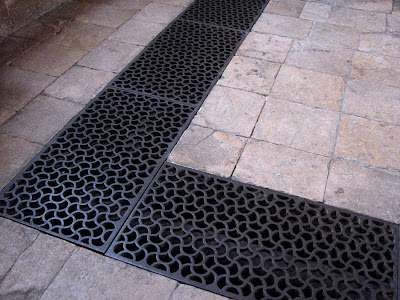 Grating in the floor of the Divinity School, Oxford, England