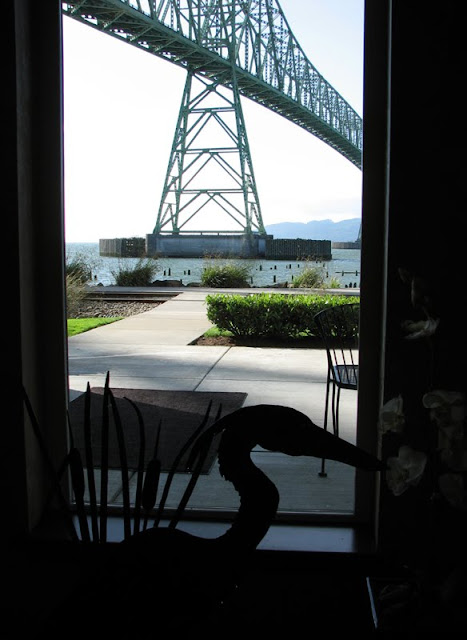 View from the Holiday Inn Express, Astoria, Oregon