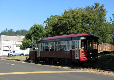Riverfront Trolley, Astoria, Oregon