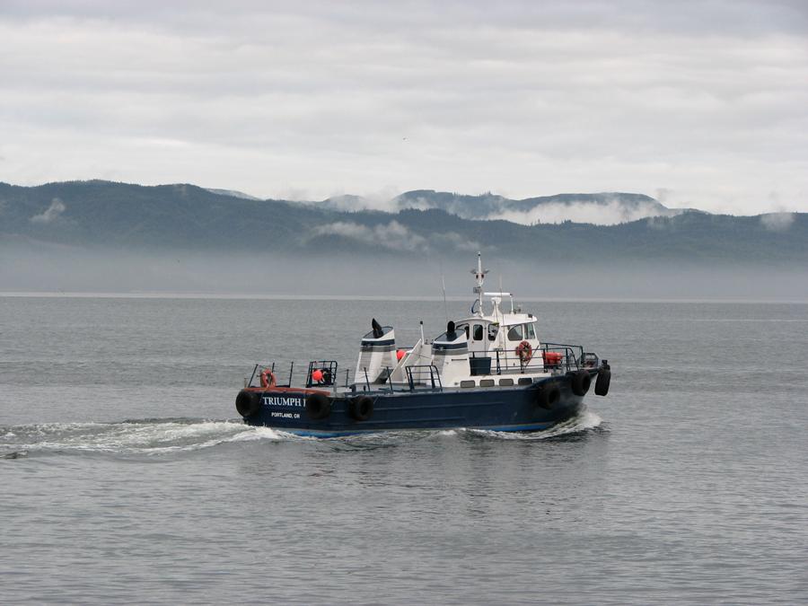 Boat, Triumph II - Tender