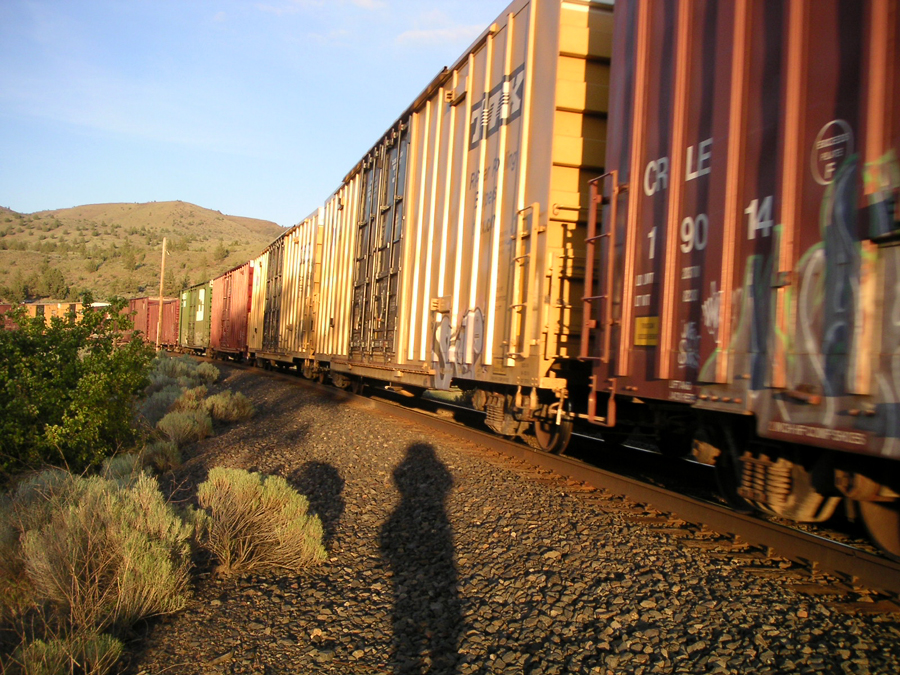 Train at South Junction, Oregon