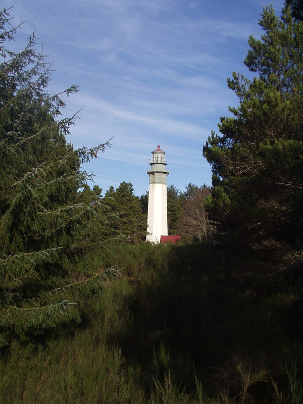 A lighthouse on the Olympic Peninsula, Washington