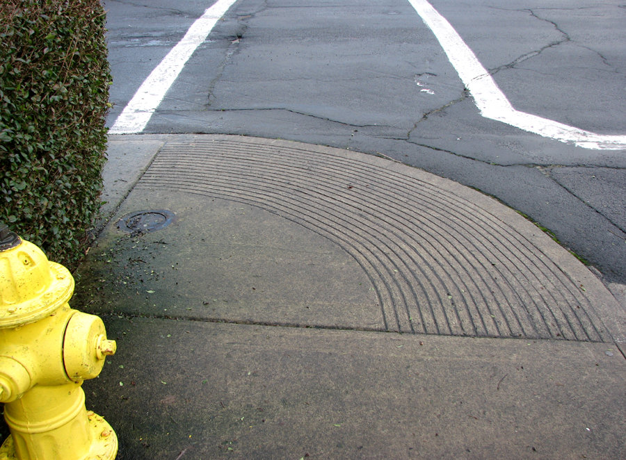 Fire Hydrant and Grooves, Astoria, Oregon Street