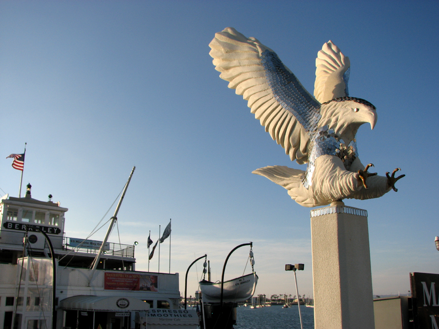 Eagle Sculpture, San Diego Harbor