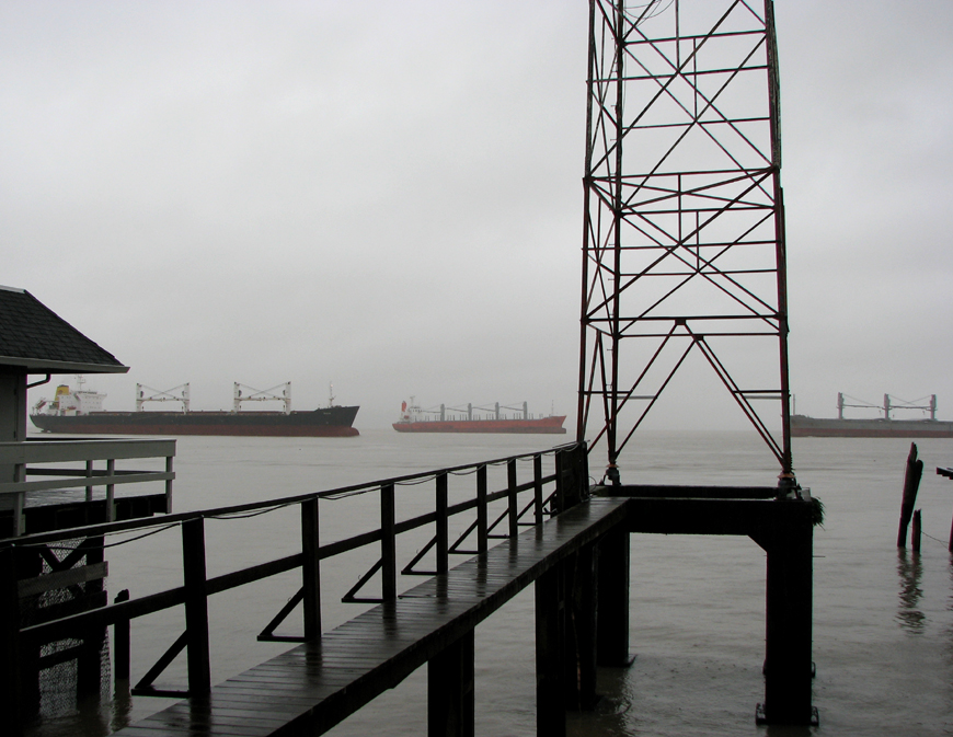 Three Ships on the Columbia River