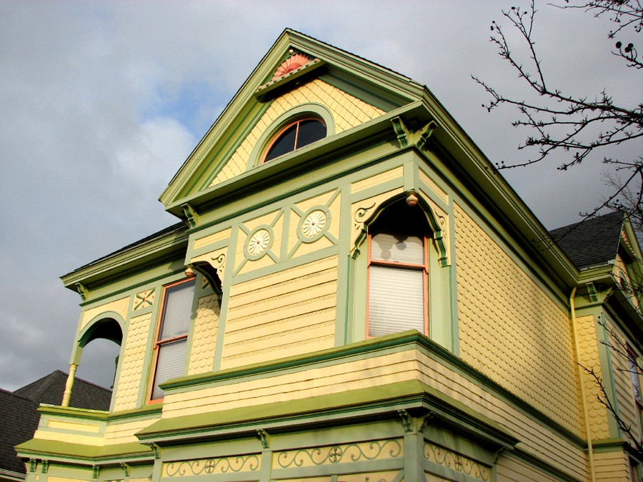 Victorian house, Astoria