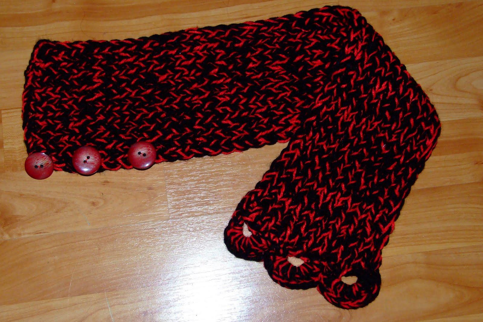Cuellos de lana paso a paso imagui - Como hacer una bufanda de lana gorda ...