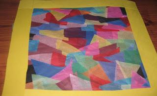 Tissue Paper Mosaic