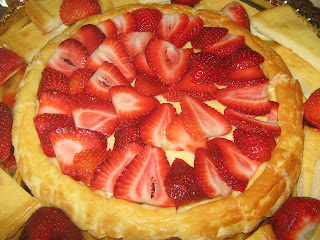 Cheese Cake with Strawberries