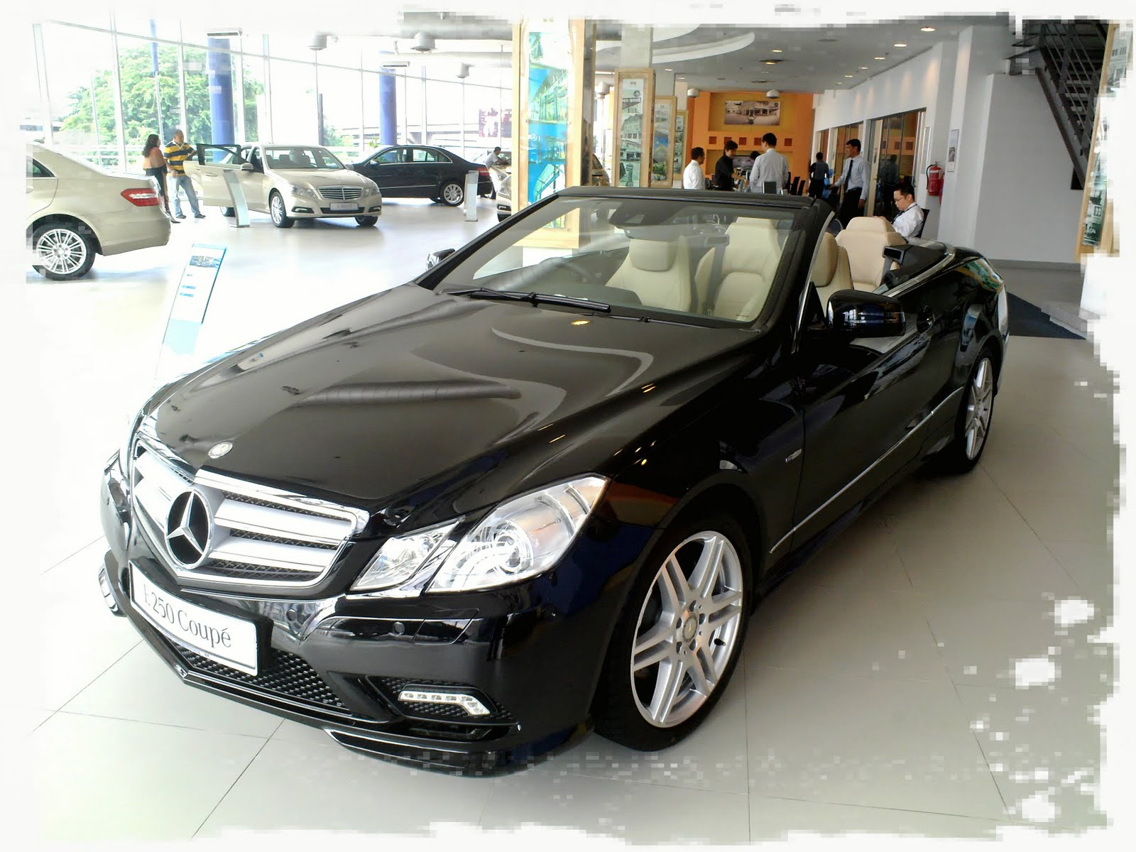 Mercedes Benz E250 Coupe