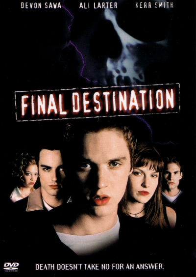 11) Final Destination (2000) Starring: Devon Sawa, Ali Larter and Kerr Smith ...