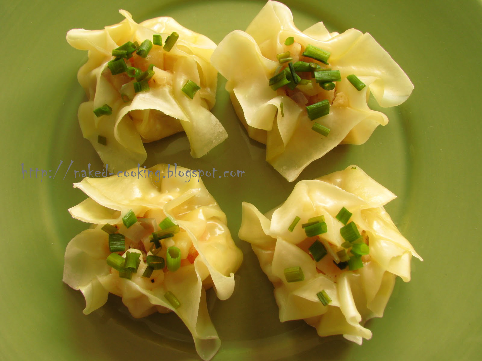 Naked Cooking: Steamed Chinese Shrimp Dumplings