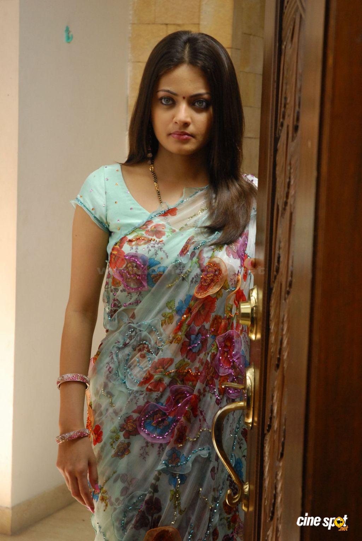 , Sneha Ullal in Saree- Homely Pics