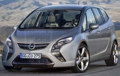 Auto Novita Nuova Opel Zafira 2011