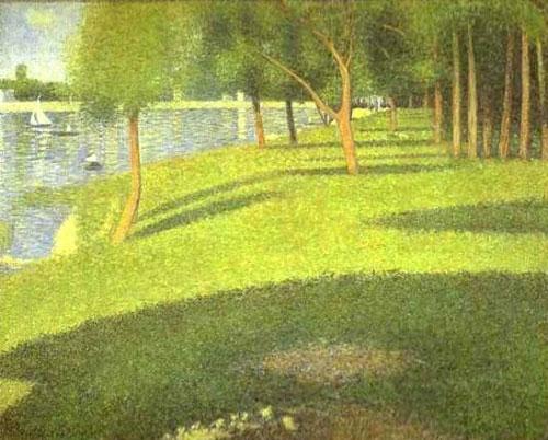 Pontilhismo- Georges Seurat