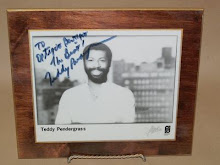 homage a monsieur Teddy Pendergrass