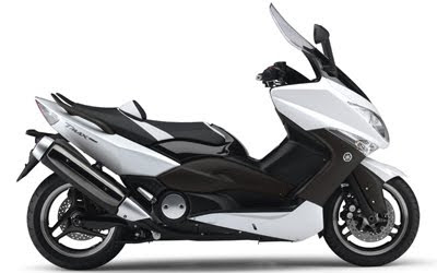 yamaha Scooter TMAX White