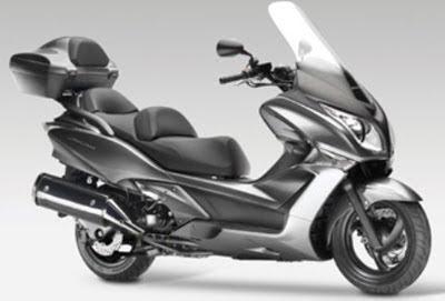 Motorcycle Honda SW-T