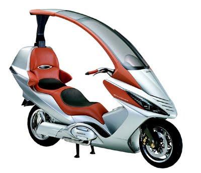 Honda Elysiuma Scooter