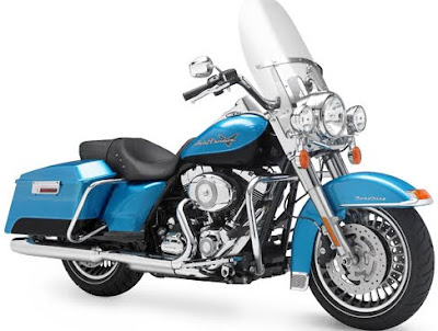 MOTORCYCLE HARLEY DAVIDSON FIREFIGHTER ROAD KING 201
