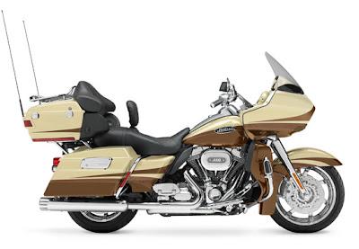 MOTORCYCLE HARLEY DAVIDSON FLTRUSE CVO ROAD GLIDE ULTRA 2011