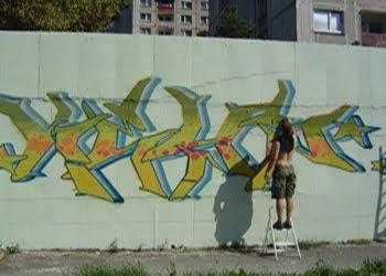 DESIGN GRAFFITI PIECE