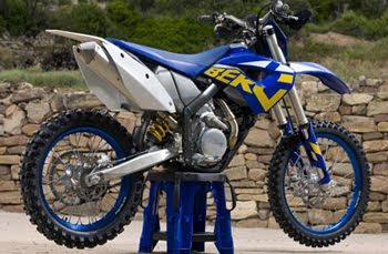 MOTORCYCLE HUSABERG FX450 2011