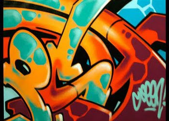 ORANGE GRAFFITI DESIGN LETTER BUBBLE EFFECT BY MINDGEM, Design, Graffiti, Graffiti Design, Bubble, Graffiti Design Bubble, Letter Bubble