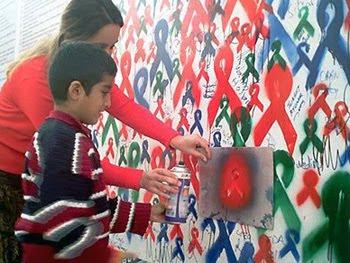 New, Style, Wall, Street, Graffiti, AIDS, New Style Wall, Street Graffiti AIDS,Style Wall Street