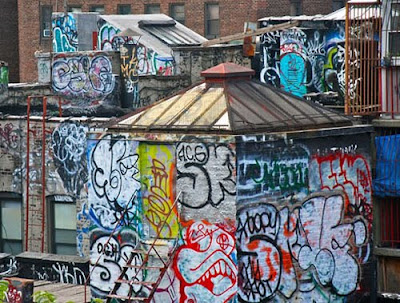 COLORFUL Graffiti, Chinatown, Manhattan, Style, Bridge, Graffiti Chinatown