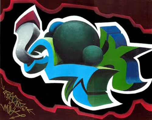 3d design graffiti bubble alphabet letters 3d design