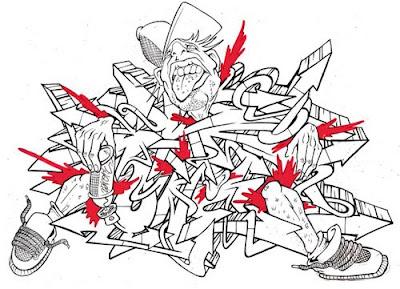 Design, Graffiti, alphabe,t white, tribe, http://graffityartamazing.blogspot.com/