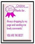 1st online award