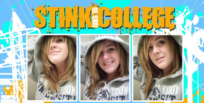 Stink goes to College