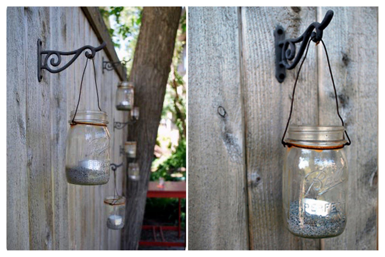 Сделать своими руками светильники в сад