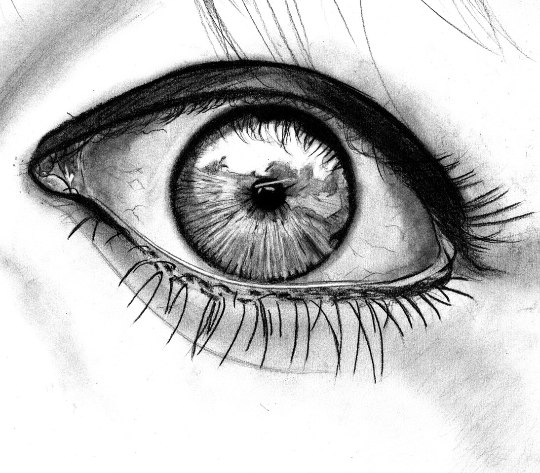 Eye Drawing: Trololo Blogg: Wallpaper Drawing Art