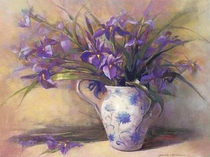 Free high resolution pictures oil paintings flowers for How to paint flowers with oil paint