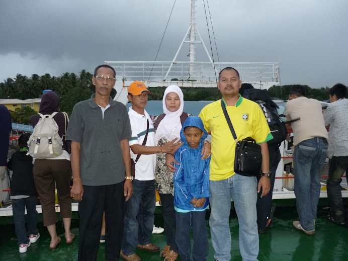 FERRY LABUAN : on board