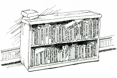 Studies And Sketches One Bookshelf