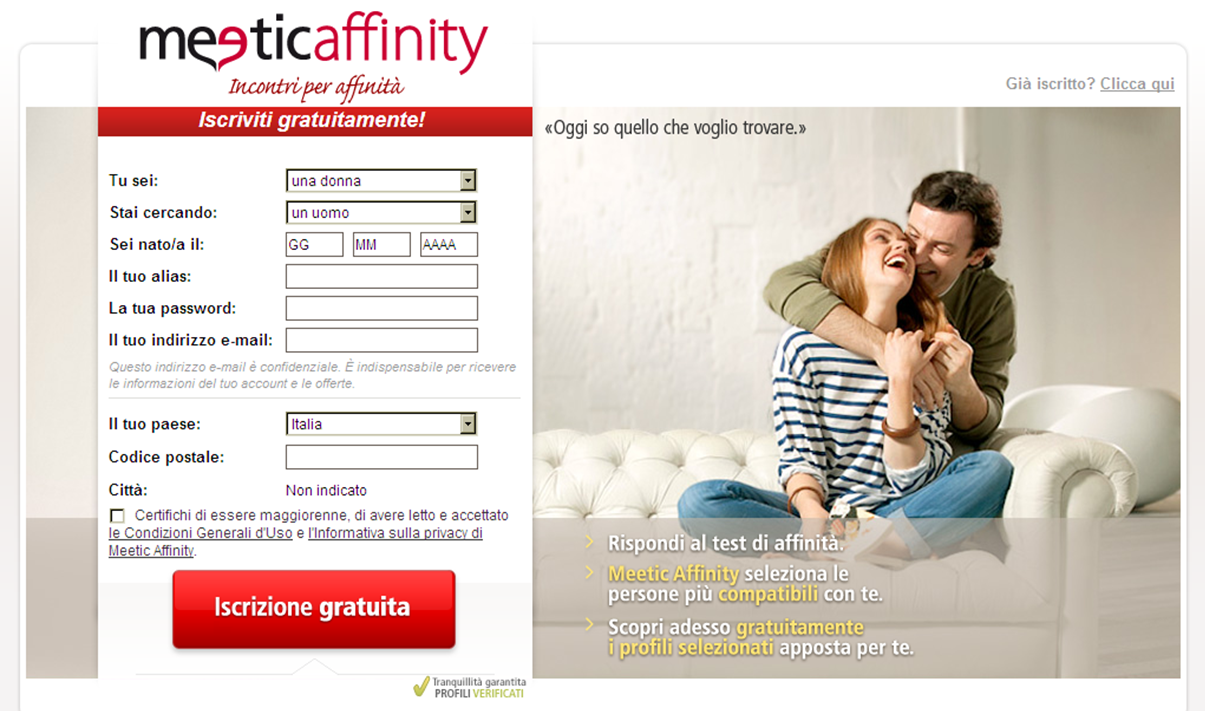 pornovideo in italiano incontri su meetic