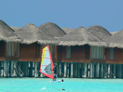 Sailing in Maldive
