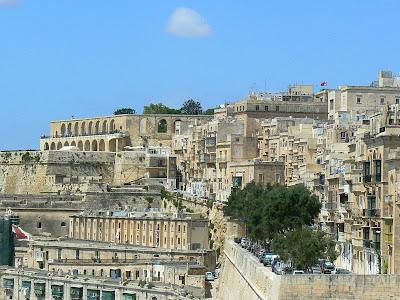 Obiective turistice Malta: zidurile din La Valetta