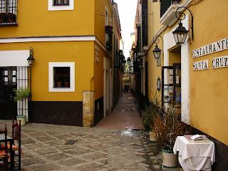 Obiective turistice Spania: cartierul Santa Cruz Sevilla