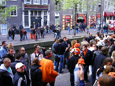 Party Olanda: Amsterdam de Ziua Reginei